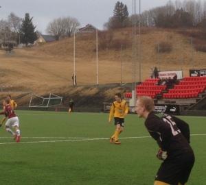 Nikolai kom inn i pausen og ble matchvinner da han satte inn 2-0 målet.