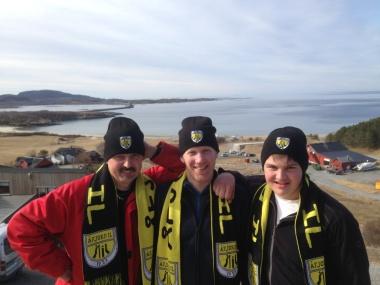 Oddvar, Geir og Henrik