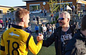 Forrige kamp's matchvinner Magne Larsen har troen på poeng mot Gjerdrum!  Foto: Fosna-Folket.